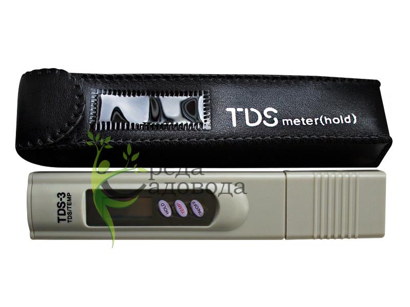 Устройство для проверки качества воды TDS-3 метр солемер - Цена, фото, отзывы